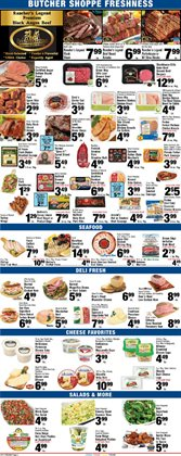 Cow meat deals in the Foodtown supermarkets weekly ad in New York