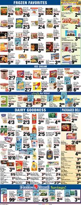 Frozen deals in the Foodtown supermarkets weekly ad in New York