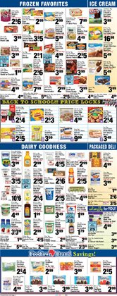 Watch deals in the Foodtown supermarkets weekly ad in New York
