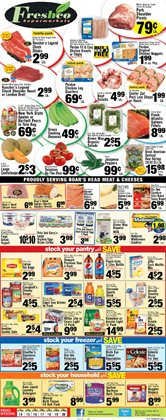 TV deals in the Foodtown supermarkets weekly ad in New York