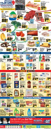 New deals in the Foodtown supermarkets weekly ad in New York