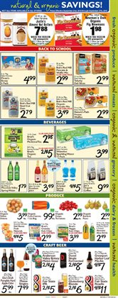 Beer deals in the Foodtown supermarkets weekly ad in New York