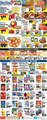Cakes deals in the Foodtown supermarkets weekly ad in New York