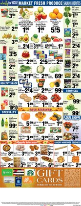 Car wheels deals in the Foodtown supermarkets weekly ad in New York