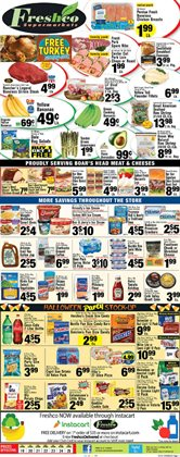 Halloween deals in the Foodtown supermarkets weekly ad in New York