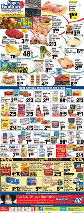 Canon deals in the Foodtown supermarkets weekly ad in New York