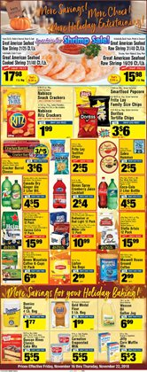 Snacks and nuts deals in the Foodtown supermarkets weekly ad in New York