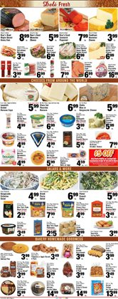 Salad deals in the Foodtown supermarkets weekly ad in New York