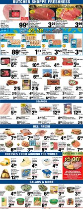 Salad vegetables deals in the Foodtown supermarkets weekly ad in New York