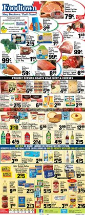 Icecreams deals in the Foodtown supermarkets weekly ad in New York