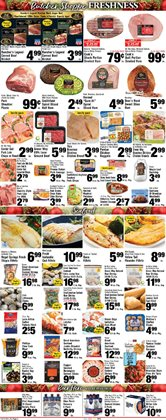 Rosé wine deals in the Foodtown supermarkets weekly ad in New York