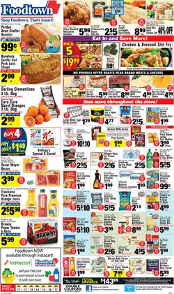 Special K deals in the Foodtown supermarkets weekly ad in New York