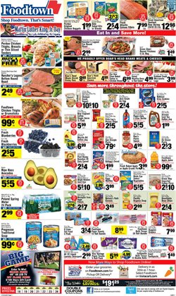Nabisco deals in the Foodtown supermarkets weekly ad in New York