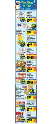 Bedding deals in the Foodtown supermarkets weekly ad in New York
