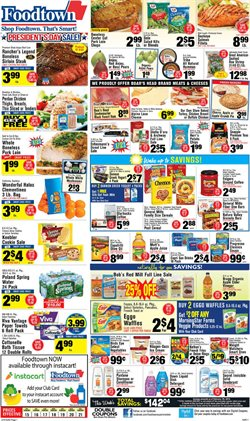 Bra deals in the Foodtown supermarkets weekly ad in New York