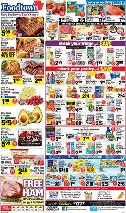 Accessories deals in the Foodtown supermarkets weekly ad in New York