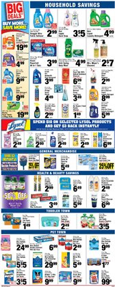Cleaners deals in the Foodtown supermarkets weekly ad in New York