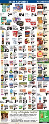 Lingerie deals in the Foodtown supermarkets weekly ad in New York