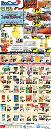 Oranges deals in the Foodtown supermarkets weekly ad in New York