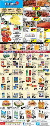 Shrimp deals in the Foodtown supermarkets weekly ad in New York
