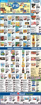 Sandwiches deals in the Foodtown supermarkets weekly ad in New York