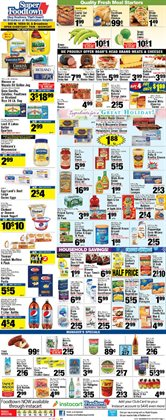 Dummy deals in the Foodtown supermarkets weekly ad in New York