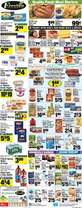 Flower deals in the Foodtown supermarkets weekly ad in New York