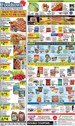 Foodtown supermarkets deals in the New York weekly ad