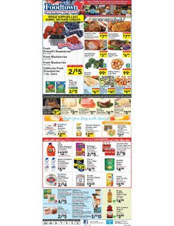 Foodtown supermarkets catalogue in New York ( 2 days ago )