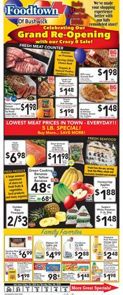 Halloween deals in the Foodtown supermarkets catalog ( 1 day ago)
