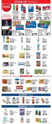 Pampers deals in Foodtown supermarkets