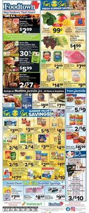 Grocery & Drug deals in the Foodtown supermarkets catalog ( 2 days left)