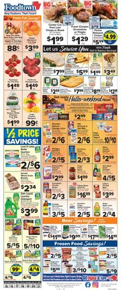 Grocery & Drug deals in the Foodtown supermarkets catalog ( Published today)