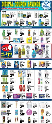 Aveeno deals in the Foodtown supermarkets weekly ad in New York