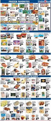 Pizza deals in the Foodtown supermarkets weekly ad in New York