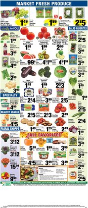 Ladder deals in the Foodtown supermarkets weekly ad in New York