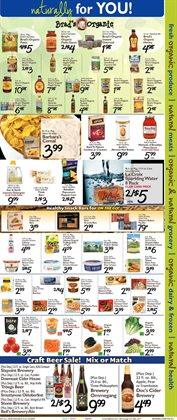 Barbecue deals in the Foodtown supermarkets weekly ad in New York
