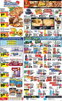 Sprite deals in the Foodtown supermarkets weekly ad in New York