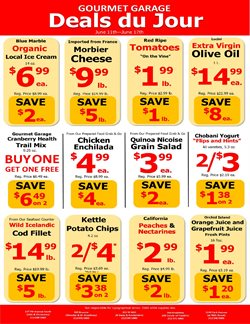 Gourmet Garage deals in the New York weekly ad