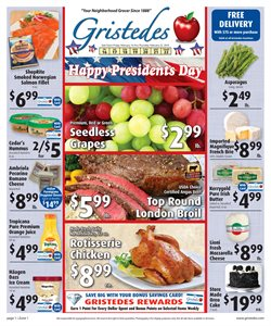 Juice deals in the Gristedes weekly ad in New York