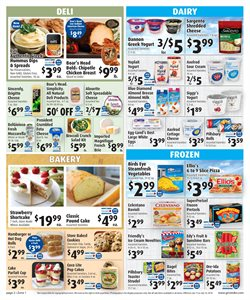 Yoplait deals in the Gristedes weekly ad in New York