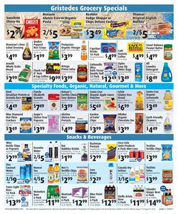 Christmas deals in the Gristedes weekly ad in New York