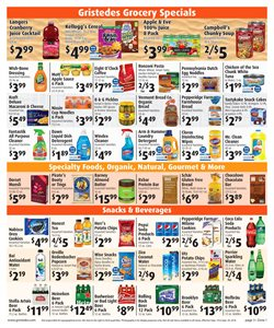 Popcorn deals in the Gristedes weekly ad in Las Vegas NV