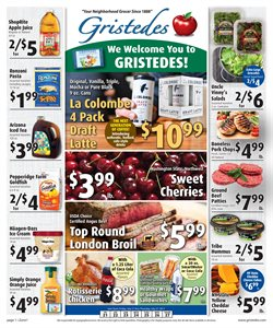 Gristedes deals in the New York weekly ad
