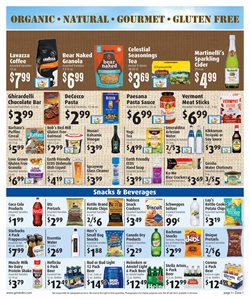 Beer deals in the Gristedes weekly ad in New York