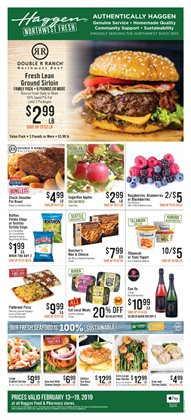 Pizza deals in the Haggen Food weekly ad in Federal Way WA