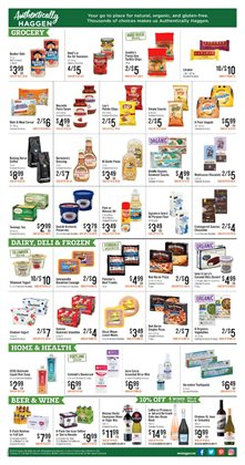 Wine deals in the Haggen Food weekly ad in Renton WA