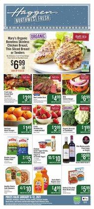 Haggen Food catalogue ( Expired )