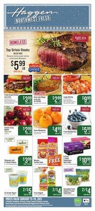 Haggen Food catalogue ( Expires tomorrow )