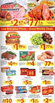 Dan's Supermarket deals in the Bismarck ND weekly ad
